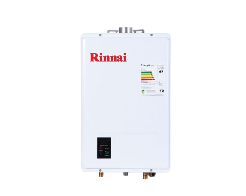Aquecedor de água a Gás REU-1602 FEH Branco Digital